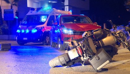 Incidente stradale ieri a Rimini, grave motociclista sammarinese