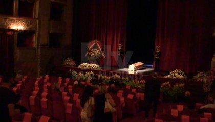 Camera ardente per Franca Valeri a Roma: omaggio da artisti e politici