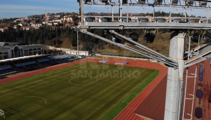 Tre Penne, l'Europa League si gioca al San Marino Stadium
