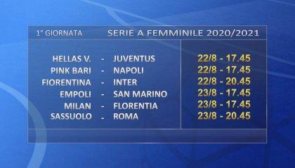 San Marino Academy, il debutto in Serie A domenica 23 agosto alle 17.45