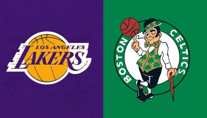Boston Celtics e Los Angeles Lakers i club NBA più vincenti