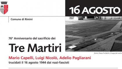 In memoria di Mario, Luigi e Adelio: la cerimonia di commemorazione del 76° Anniversario dei Tre Martiri