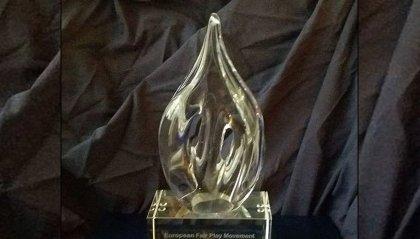 Premio internazionale fair play conferito al Comitato Nazionale Sammarinese Fair Play