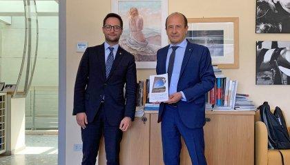 """Righi incontra Varotti: """"Gettate le basi per una programmazione economica fra  San Marino e Pesaro-Urbino"""""""
