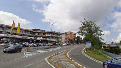 Borgo Maggiore, scontro tra una moto e un'auto. Prognosi di 50 giorni per il centauro