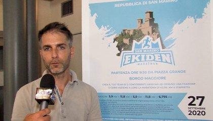 Presentata la San Marino Ekiden Marathon