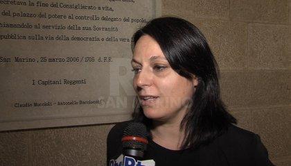 """Riforma Giunte di Castello, Segretario Tonnini: """"Sono orgogliosa, un passo avanti per San Marino"""""""