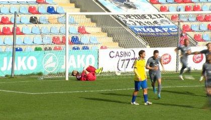 """Riga - Tre Fiori 1-0, la """"partita infinita"""" va ai lettoni"""