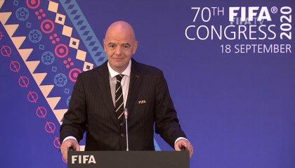 """Fifa, Infantino: """"Pronto un piano di soccorso Covid da 1,5 miliardi"""""""