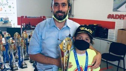 Minimoto: Gabriel Tesini è campione Europeo Junior C