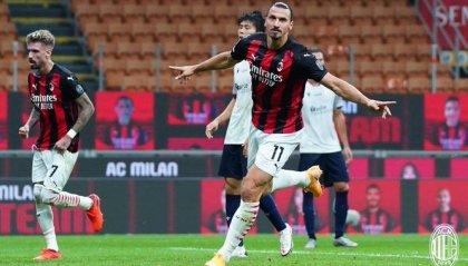Milan - Bologna 2-0, oggi si decide su Roma-Verona