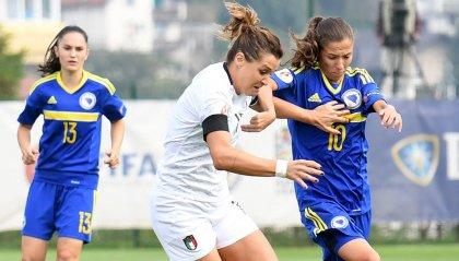 Femminile: l'Italia di Milena Bertolini vince 5-0 in Bosnia