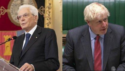 """Il presidente Mattarella risponde a Boris Johnson: """"Anche noi amiamo la libertà, ma anche la serietà"""""""