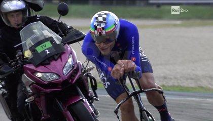 Mondiali di Imola: super Ganna, oro a cronometro