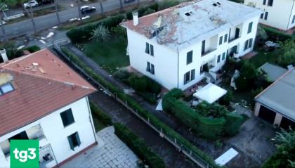 Maltempo sull'Italia: neve. pioggia torrenziale e forte vento, San Marino all'alba segnava 8°