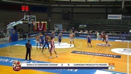 Riecco il basket: c'è Pesaro-Sassari
