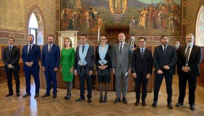 Segreteria Affari Esteri: Lettere Credenziali del nuovo Ambasciatore dell'Unione europea, Alexandra Valkenburg-Roelofs