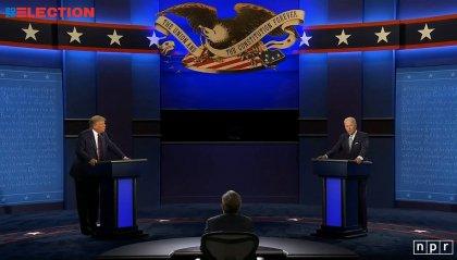 USA: fioccano gli insulti nel duello TV fra Trump e Biden