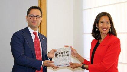 Il Console Generale degli Stati Uniti Ragini Gupta incontra il Segretario all'Industria
