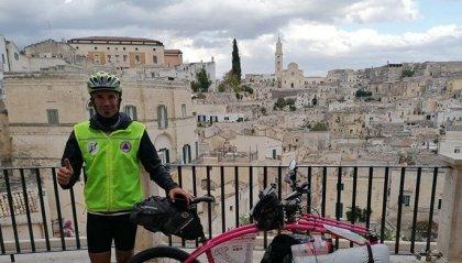 """""""Pedalando per l'Italia"""" raggiunge quota 3600 Km"""