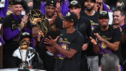 Los Angeles Lakers campioni NBA 2019 -2020