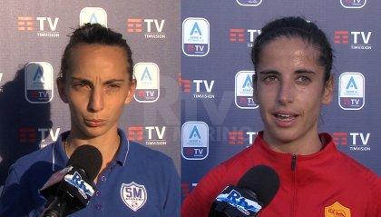 """Raffaella Barbieri: """"C'è il rammarico per un punto perso"""", Claudia Ciccotti: """"Una vittoria che ci teniamo stretta"""""""
