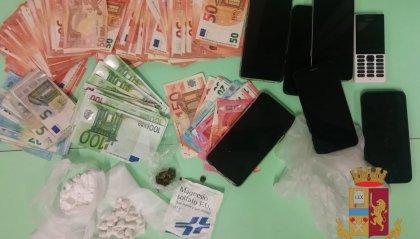 Segnalazione tramite l'applicazione Youpol di spaccio di cocaina: arrestati due spacciatori