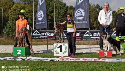 Canicross : medaglia di bronzo per Paola & Icy