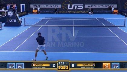 Ad Anversa De Minaur si aggiudica l'UTS, la competizione che rivoluziona il tennis