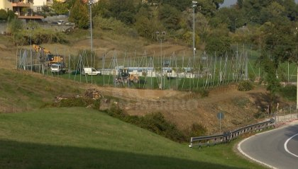 Iniziati i lavori a Serravalle B: nel progetto nuovo campo e palazzetto Futsal
