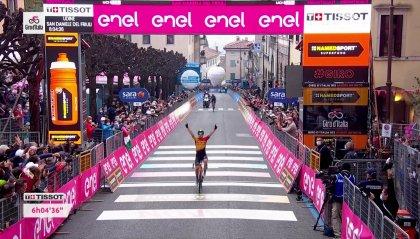 Giro, tappa 16: trionfa Tratnik