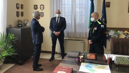 Incontro tra Sua Eccellenza il Prefetto Giuseppe Forlenza e il Segretario di Stato alla Sanità della Repubblica di San Marino On. Roberto Ciavatta presso la Prefettura di Rimini