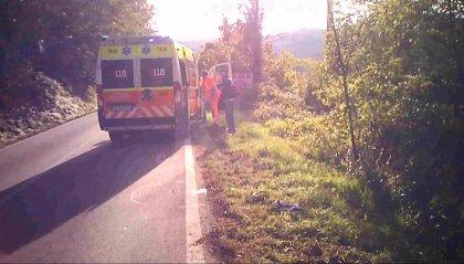 Saludecio: autobus sorpassa e urta ciclista sammarinese. Ricoverato con prognosi riservata