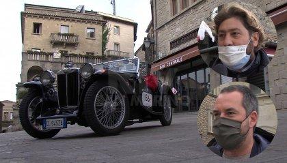 """""""1000 Miglia"""" a San Marino: la soddisfazione dei Segretari Pedini Amati e Lonfernini"""