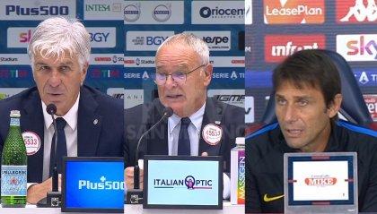 Negli anticipi Conte vince a Marassi, Ranieri sbanca Bergamo