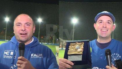 Titano Bears: tutta la soddisfazione del presidente Giuseppe Mancini e del capitano Gianluca Dau