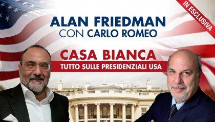 Usa al voto: stasera alle 22.00 Casa Bianca con Friedman e Romeo