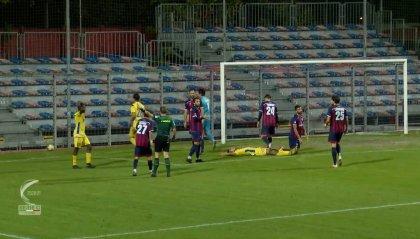 Imolese - Fermana 0-1, Boateng lancia i marchigiani