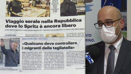 San Marino non adotta il coprifuoco, malumori da Rimini di cui Roma si fa interprete
