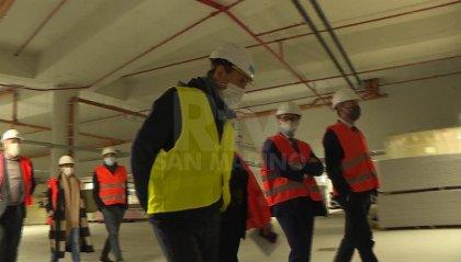 """The Market: Righi e Lonfernini al cantiere di una costruzione """"pari solo a Dubai"""""""