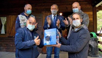 Consegnato un defibrillatore al Campo di Tiro di Montegiardino