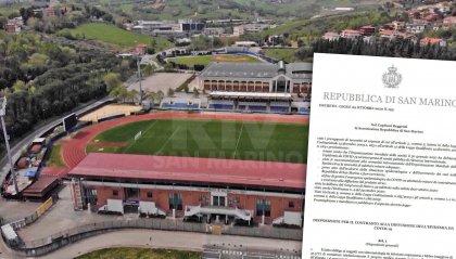 Decreto: sospese competizioni sportive a San Marino