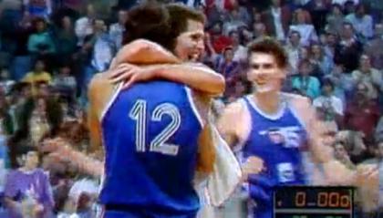 Vlade Divac e Drazen Petrovic, una profonda amicizia interrotta dalla guerra