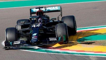 F1, Imola: Hamilton il migliore delle libere