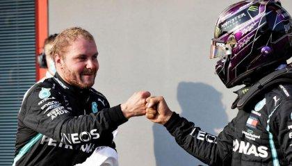 Doppietta Mercedes nelle qualifiche di Imola, Bottas davanti ad Hamilton