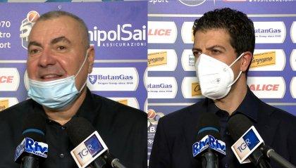 """Repesa elogia Delfino e tutto il gruppo, Martino: """"Ko con attenuanti"""""""