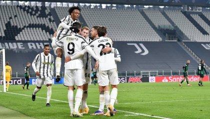 Champions: Juventus agli ottavi di finale con due turni di anticipo