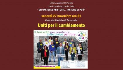 """""""Un castello per tutti... Insieme si può"""": Serata a tema """"Uniti per il cambiamento"""""""
