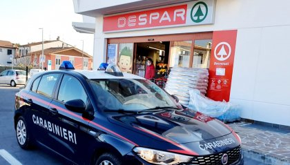 Santarcangelo: rapina in pieno giorno a un supermercato