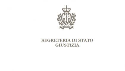 Segreteria Giustizia: il Tribunale di San Marino prosegue il suo percorso di rinnovamento. Emesso bandi di selezione per nuovi giudici
